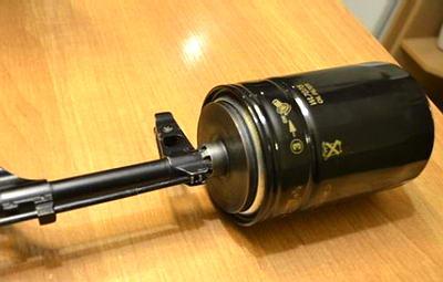 Глушитель для карабина своими руками из фильтра